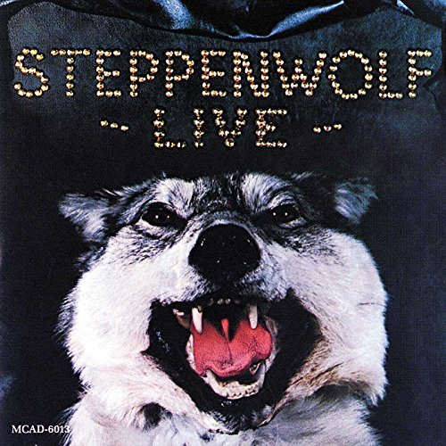 Original album cover of Live by Steppenwolf