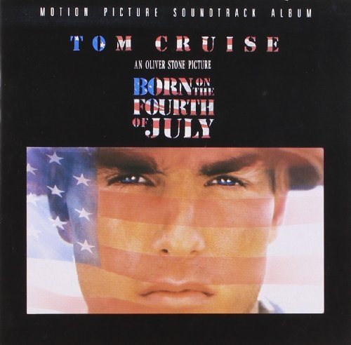 Original album cover of Born On The Fourth Of July: Motion Picture Soundtrack Album by John Williams