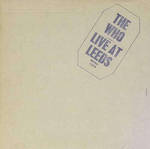 CD-Cover: The Who - Live at Leeds