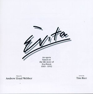 CD-Cover: Julie Covington - Evita Original London Cast Recording