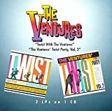 Album cover for Twist with the Ventures/The Ventures' Twist Party, Vol. 2