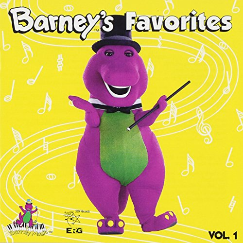 Original album cover of Barney's Favorites, Vol. 1 by Barney