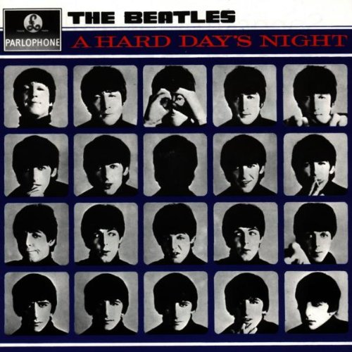 Original album cover of A Hard Day's Night (UK) by The Beatles