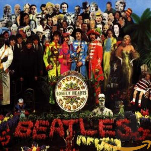 CD-Cover: The Beatles - Sgt. Pepper's Lonely Hearts Club Band