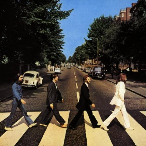 Original album cover of Abbey Road by The Beatles