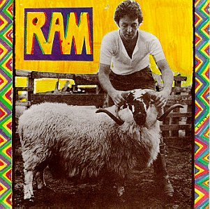Original album cover of Ram by Paul Mccartney