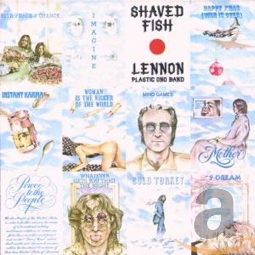 Original album cover of Shaved Fish by John Lennon