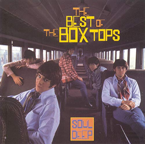 CD-Cover: The Box Tops - The Best of the Box Tops: Soul Deep