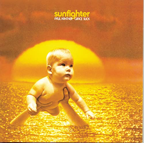 Original album cover of Sunfighter by Paul Kantner