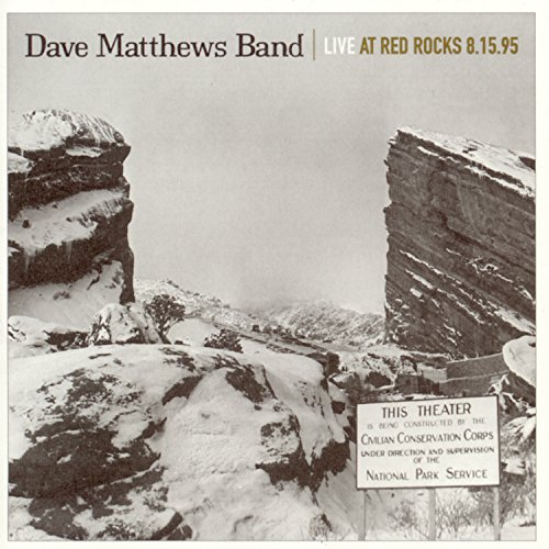 Pochette de l'album pour Live At Red Rocks