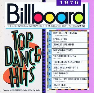 Cover Billboard Top Dance Hits: 1976