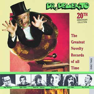 Original album cover of Dr. Demento 20th Anniversary Collection: The Greatest Novelty Records Of All Time by Various Artists