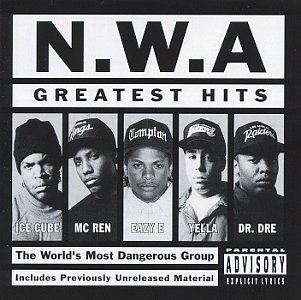 Original album cover of N.W.A. - Greatest Hits by N.W.A.