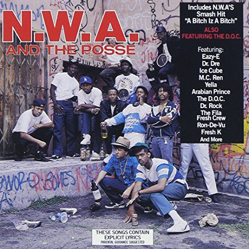 CD-Cover: N.W.A - N.W.A and the Posse