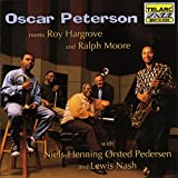 Capa de Oscar Peterson Meets Roy Hargrove and Ralph Moore