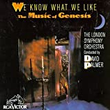 Cubierta del álbum de We Know What We Like: London Symphony Orchestra Plays the Music of Genesis