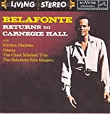 Album cover for Belafonte: Returns to Carneige Hall