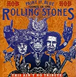 Cubierta del álbum de Paint It Blue: Songs of The Rolling Stones