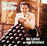 Pochette de l'album pour Freddy Cannon His Latest and Greatest