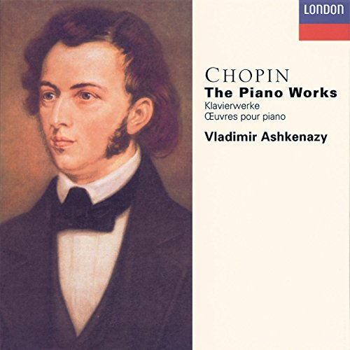 Original album cover of Chopin: The Piano Works by Fryderyk Chopin, Vladimir Ashkenazy, Vovka Ashkenazy