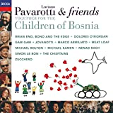 Skivomslag för Luciano Pavarotti & Friends Together for the Children of Bosnia