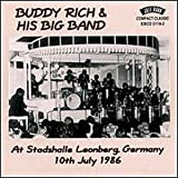 Skivomslag för Buddy Rich and His Big Band at Stadshalle Leonberg Germany