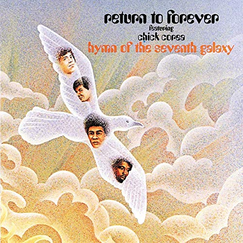 cover of return to forever's album, HYMN OF THE SEVENTH GALAXY