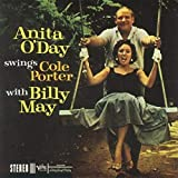 Album cover for Anita O'Day Swings Cole Porter with Billy May