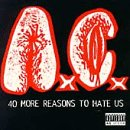 album art to 40 More Reasons to Hate Us