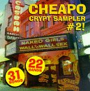 Album cover for Cheapo Crypt Sampler #2