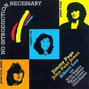 Original album cover of No Introduction Necessary by Jimmy Page w,  Albert Lee & John Paul Jones