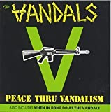 album art to Peace Thru Vandalism / When in Rome Do as the Vandals