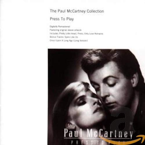 Original album cover of Press to Play by Paul McCartney