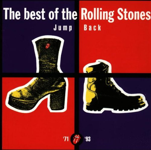 Capa de Jump Back: The Best of the Rolling Stones 1971-1993