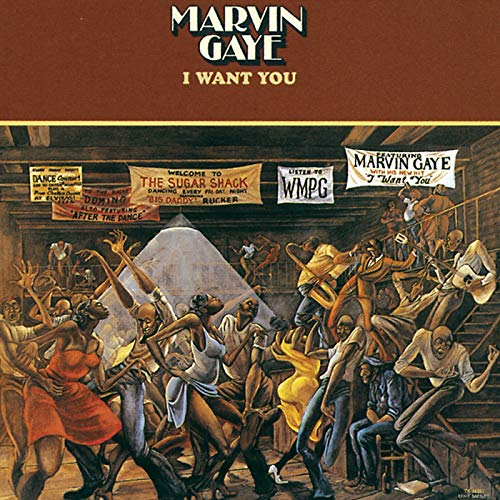 CD-Cover: Marvin Gaye - I Want You