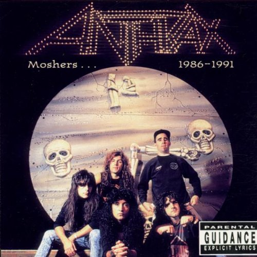 CD-Cover: Anthrax - Moshers 1986-1