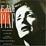 Album cover for The Great Edith Piaf