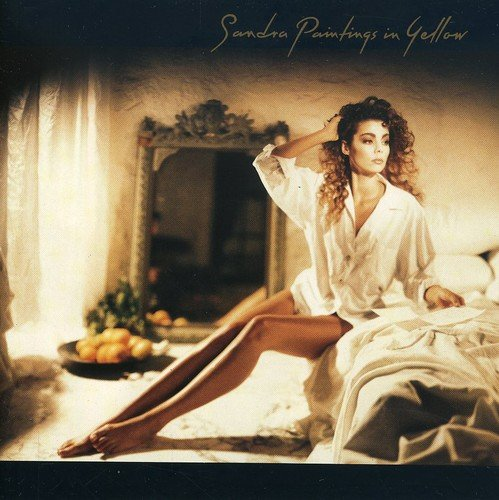 CD-Cover: Sandra - Paintings in yellow