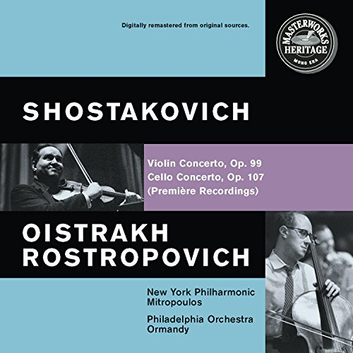 Shostakovich Cello Concerto and Violin Concerto