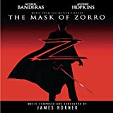 Cubierta del álbum de The Mask of Zorro