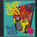 Skivomslag för The Best of the Stray Cats - Back to the Alley