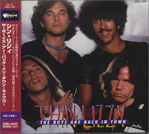 Original album cover of Boys Are Back in Town: Live in Australia by Thin Lizzy