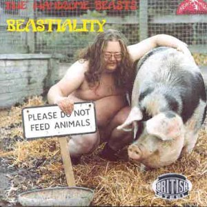 Original album cover of Beastiality by Handsome Beasts