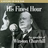 Copertina di album per His Finest Hour - the Wartime Speeches
