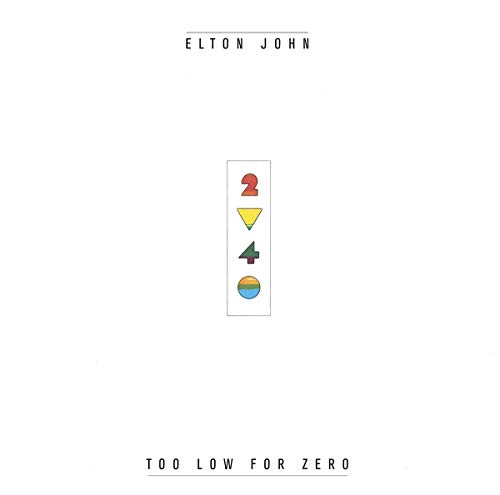 Elton John - Too Low For Zero - Zortam Music