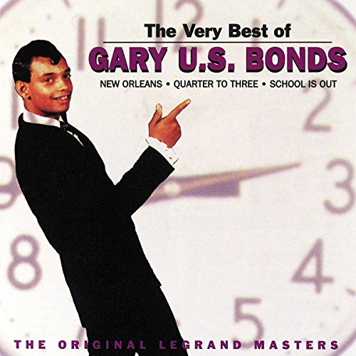 "The Very Best of Gary ""U.S."" Bonds: Original Legrand Masters by Gary U.S. Bonds album cover"
