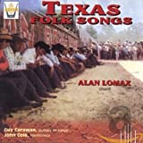 Cubierta del álbum de Texas Folk Songs Sung by Alan Lomax
