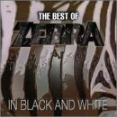 Copertina di album per The Best of Zebra: In Black and White