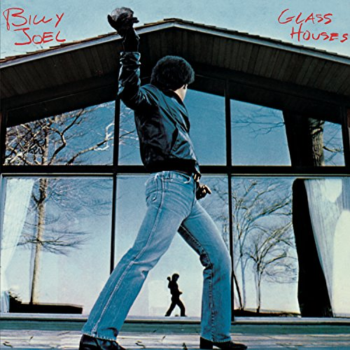 Original album cover of Glass Houses by Billy Joel