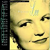 Pochette de l'album pour Great Ladies of Song Spotlight on ... Peggy Lee